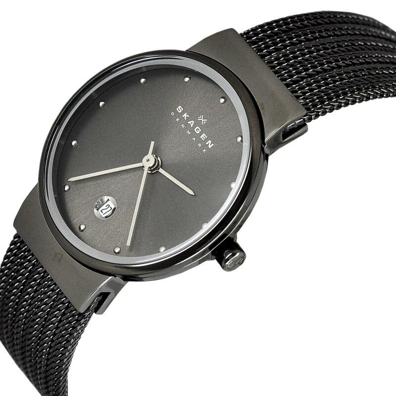 ساعت مچی عقربه ای زنانه اسکاگن مدل ۳۵۵SMM1