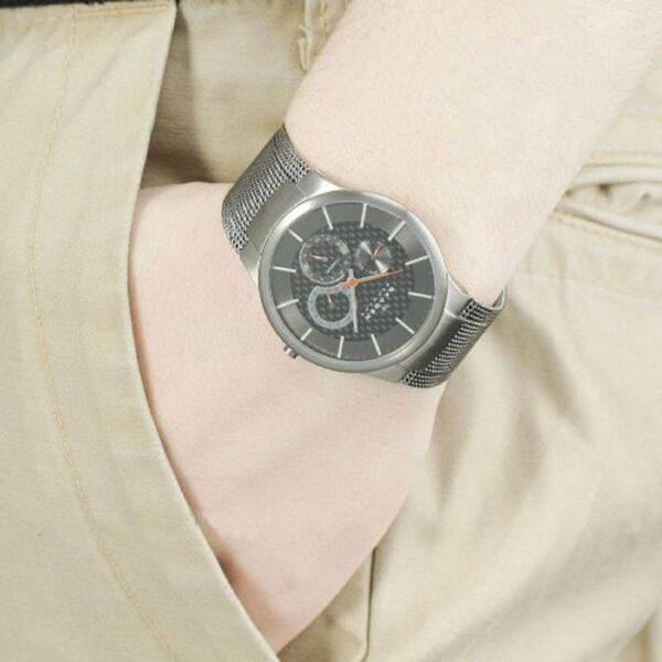 ساعت مچی عقربه ای مردانه اسکاگن مدل ۸۰۹XLTTM