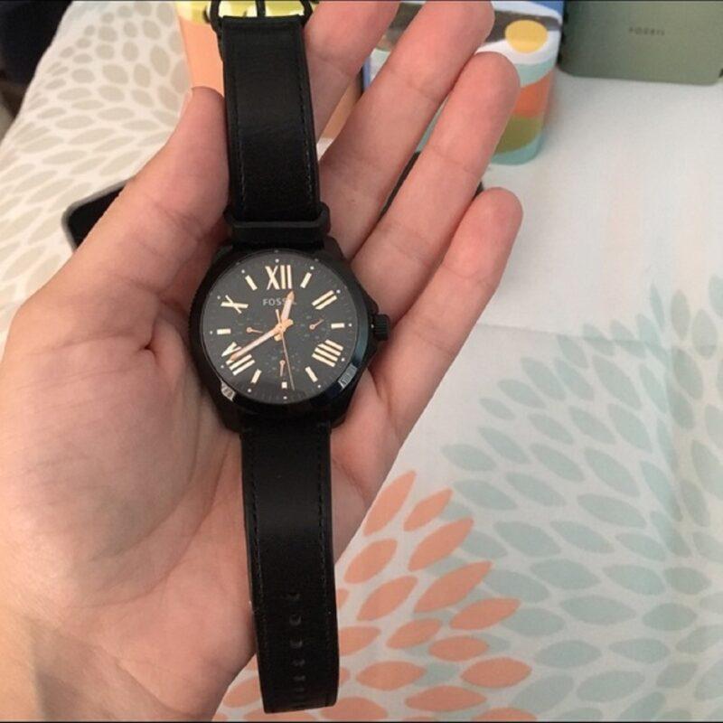 ساعت مچی عقربه ای زنانه فسیل مدل AM4523