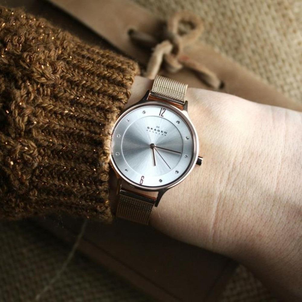 ساعت مچی عقربه ای زنانه اسکاگن مدل SKW2151