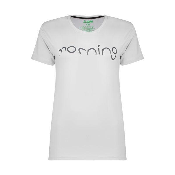 تی شرت زنانه الگرا مدل مورنینگ