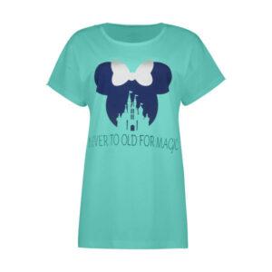 تی شرت زنانه فمیلی ور طرح قلعه